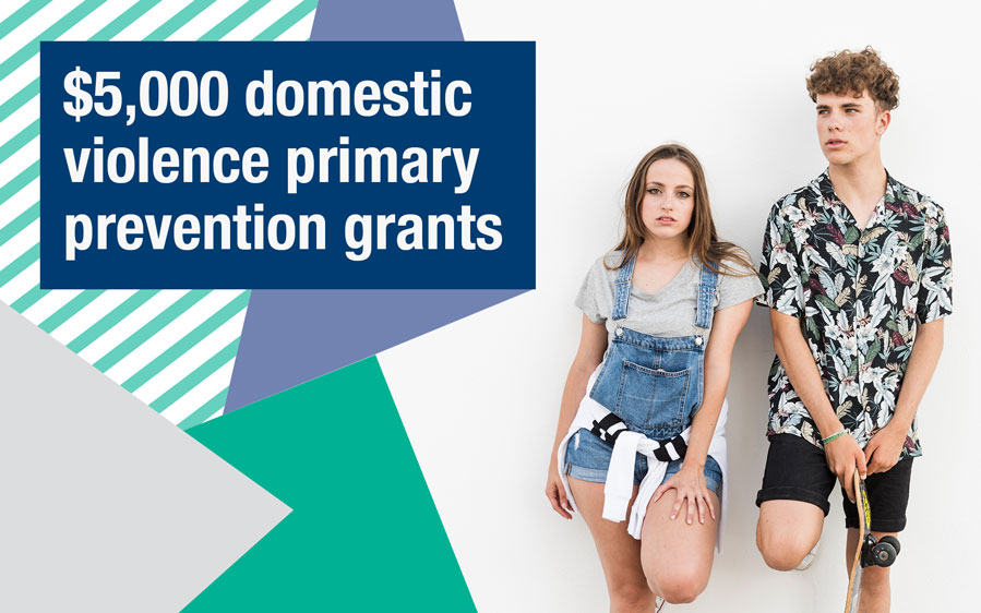 $5000 grants for primary prevention programs for youth