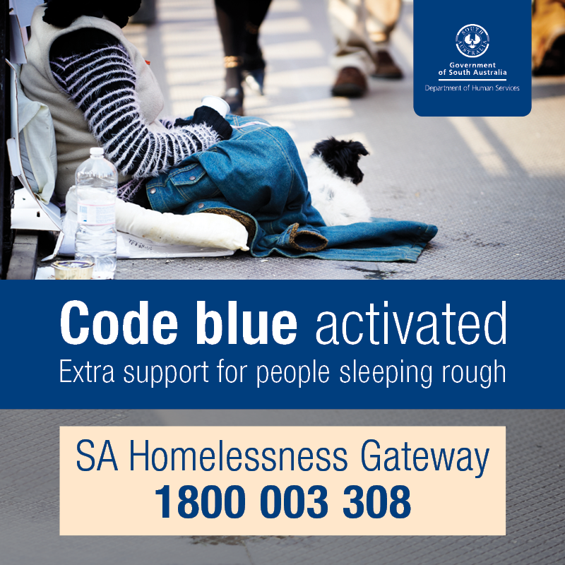 Code Blue homelessness response activated in the Riverland