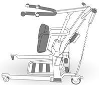 1. Prepare hoist and lifter belt.