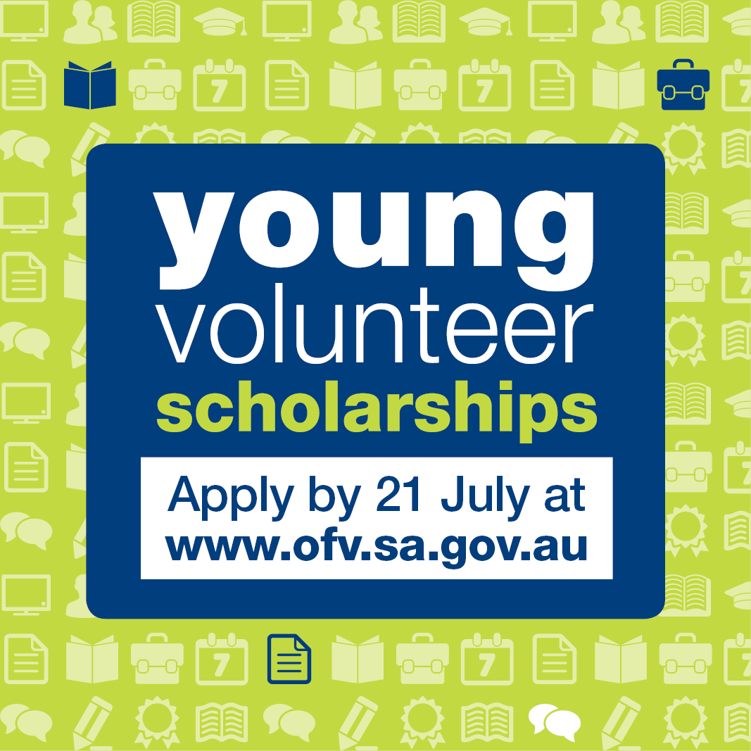 Young Volunteer Scholarships nominations