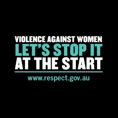 Stop Violence Against Women Graphic