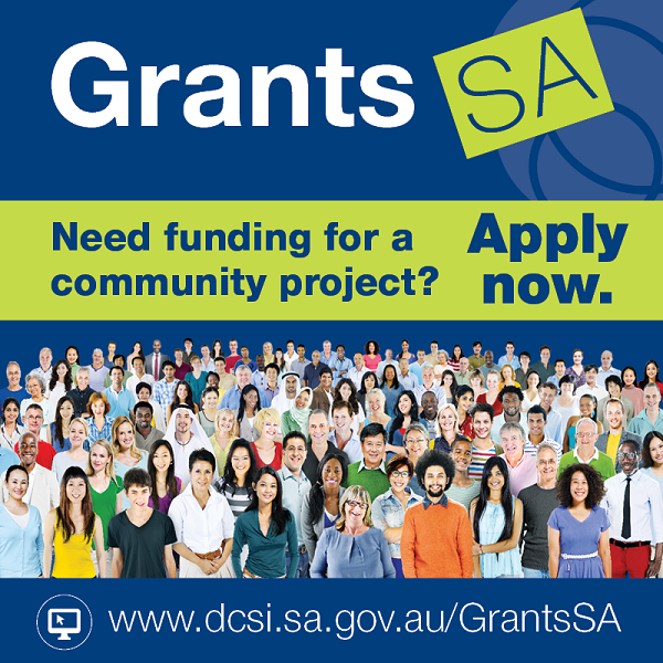 Grants SA Applications Open